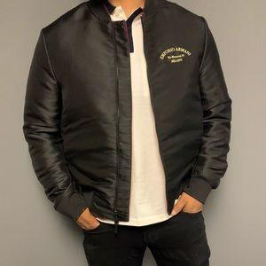 Emporio Armani reversible bomber jacket